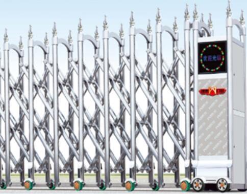 电动伸缩门的构成及工作原理