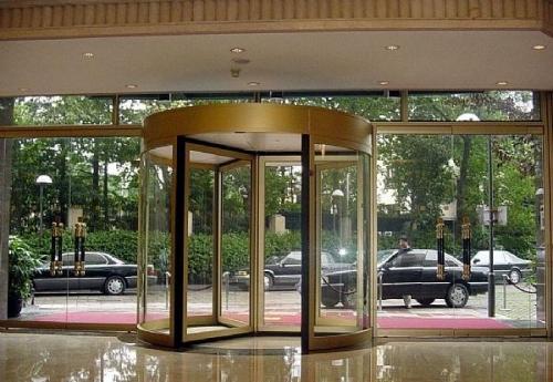 旋转门的构件组成以及如何确保自动旋转门的安全使用性