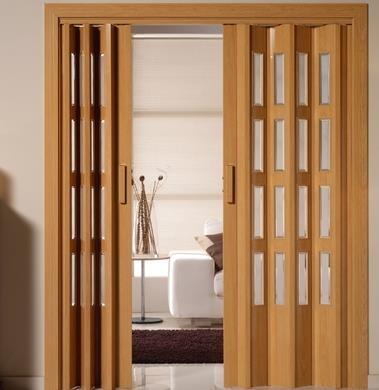 推拉折叠门用作卫生间门还是一个非常不错的选择
