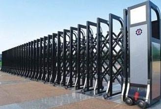 电动伸缩门遥控距离要素以及伸缩门是商场需要