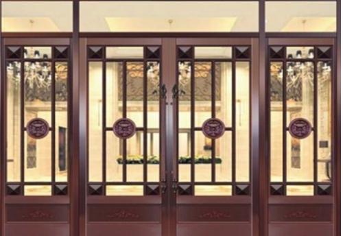 仿铜门的设计