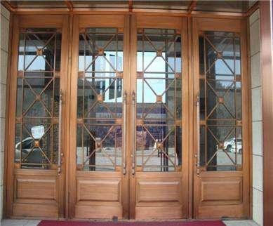 制作安装仿铜门