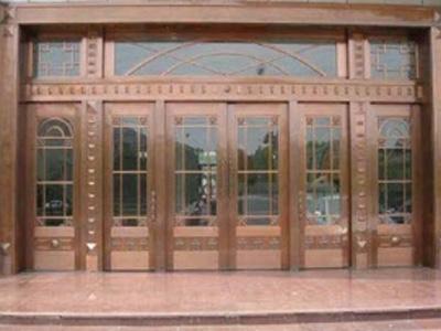 海东安装铜门