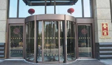 青海旋转门的设计