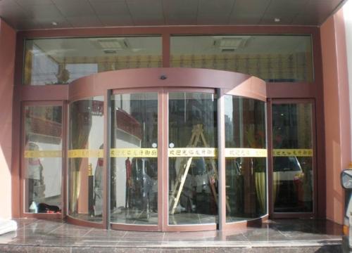 自动弧形门的设计