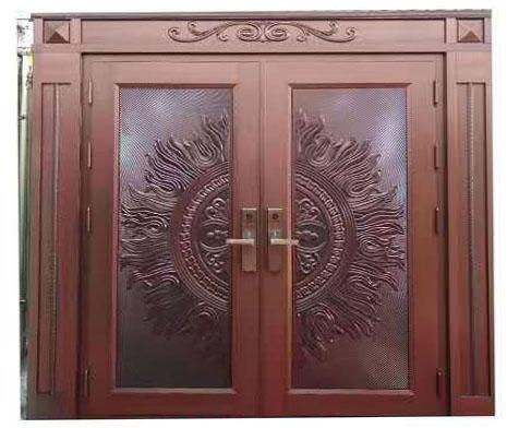 湟源铜门安装