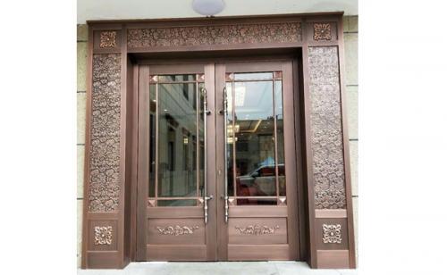 格尔木铜门