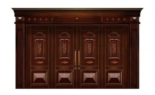 设计安装铜门